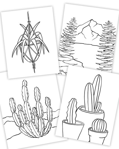 Download 10 fun coloring pages for only $1. Illustrated by Philip Boelter