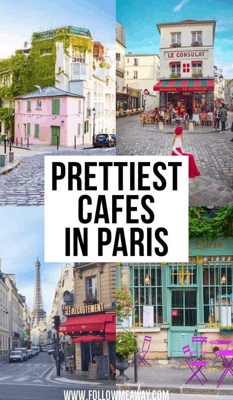 Prettiest Cafes In Paris | paris travel tips | best paris photography locations | instagram locations in paris | map of paris things to do | most charming streets in paris |  adorable cafes in Paris | cute cafes in paris | what to see in Paris #paris #traveltips #foodinparis