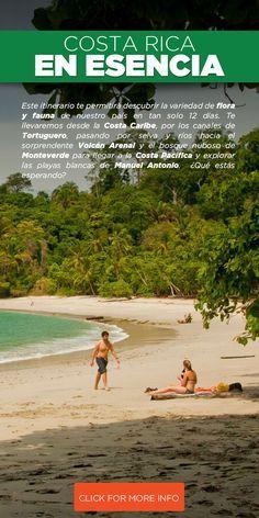 Aprovecha esta oportunidad de visitar los destinos más populares y  representativos de Costa Rica que no