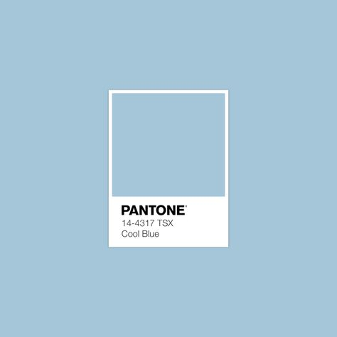 #CoolBlue #pantone #luxurydotcom