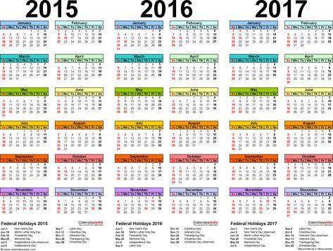 word templates calendar 2015