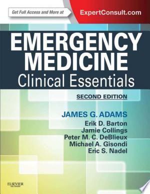 Emergency Medicine E Book Pdf Download Emergency Medicine Medicine Emergency