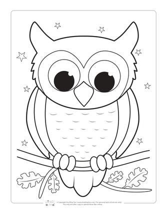 Fantastic Photographs Kids Coloring Pages Popular The Attractive Matter Concerning Shading Is That I In 2021 Owl Coloring Pages Bird Coloring Pages Fall Coloring Pages