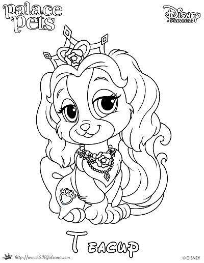 Disney S Princess Palace Pets Free Coloring Pages And Printables Puppy Coloring Pages Princess Coloring Pages Disney Coloring Pages