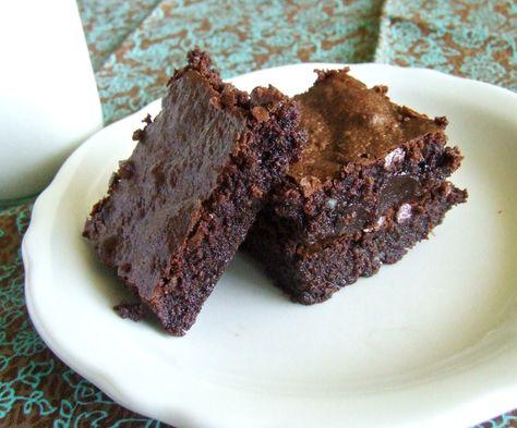 Dense & Fudgy Brownies {Grain Free & Paleo}