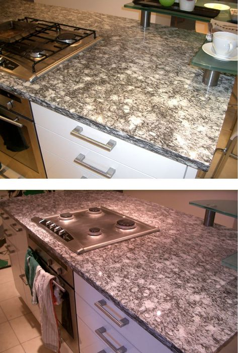 A Oil Stain Removed From Granite Using Hg Absorber Removal