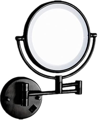 Great For Charmer Wall Mounted Cosmetic Mirror 10x Magnifying Mirror Led Makeup Mirror Shaving Mir In 2020 Makeup Mirror With Lights Shaving Mirror Wall Mounted Mirror