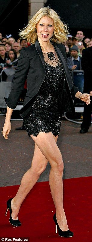 Gwyneth Paltrow reveals five exercises to help wear sky-high heels
