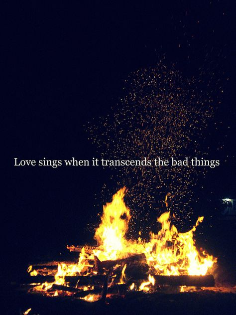 """Love sings when it transcends the bad things."" #Incubus #Love Hurts"