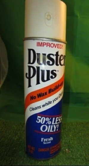 Duster Plus Furniture Polish Can Sc Johnson S Answer To Endust