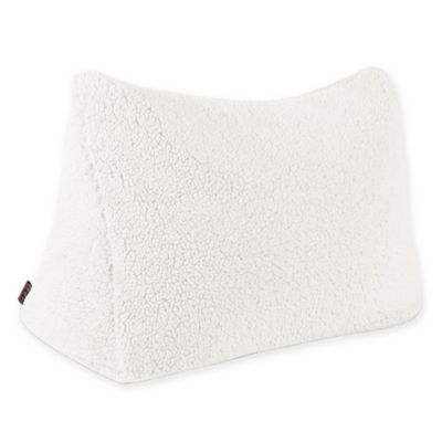 UGG Sherpa Wedge Throw Pillow In Snow
