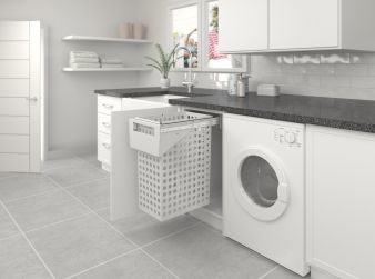 Tanova Laundry Pull Out Baskets And Bags Keep Laundry Tidy