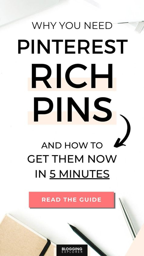 How to Enable Pinterest Rich Pins Quickly: Step-by-Step Guide (In 2020)