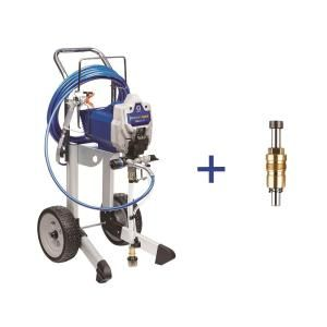 Graco Prox19 Cart Airless Paint Sprayer With Proxchange Replacement Pump 25m255 The Home Depot Paint Sprayer Sprayers Handyman Projects