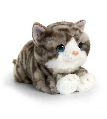 Keel Toys Signature 30cm Bengal Cat Kitten Cuddly Plush Soft Toy
