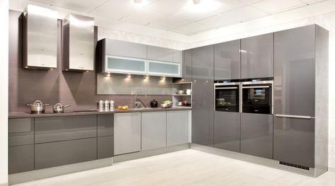 Grifflose Küchen Küche griffloseOption 2030   Nexus 2064 Küche - küche ohne griffe
