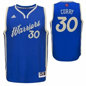 e66c7a60fac ... Golden State Warriors adidas Womens Klay Thompson 11 Christmas Day  Replica Jersey - Royal 2015- ...