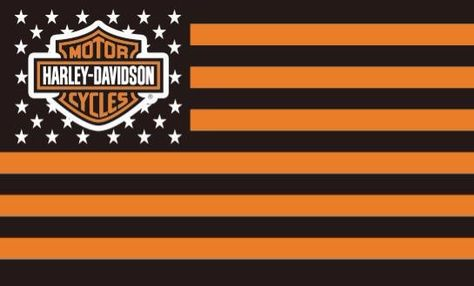 Harley Davidson Wall banner softail Dyna Sportster workshop man cave garage flag