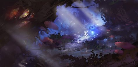 List Of Pinterest Ori And The Blind Forest Fanart Fans Images Ori