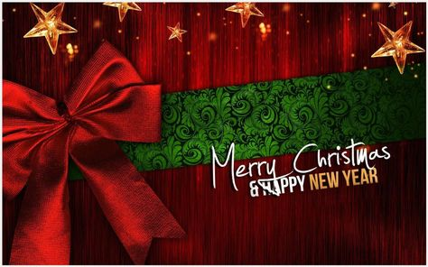 Merry Christmas And A Happy New Year Wallpaper  free merry