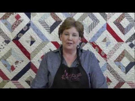 "ever wonder exactly what it means when they say ""straight of grain""? Jenny from the Missouri Star Quilt Company will tell you :)"