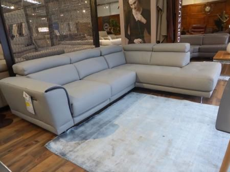 Natuzzi Raphael Italian Leather Power Recliner Chaise Sofa Sofa Max Brands Outlet Chaise Sofa Power Recliners Recliner