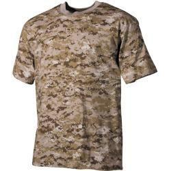 T-Shirts-#70sfasion #80sfasion #fasionhijab #fasiontips #fasionwallpaper #fasionweek #indiefasion #mensfasion #shirts #TShirts- Mfh Us T-Shirt halbarm digital- desert 170 g/qmDigital Desert L Max FuchsMax Fuchs