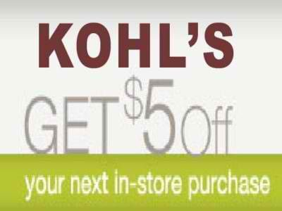 Kohl's is one of the largest department stores in the US. They carry  everything from