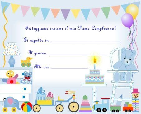 Inviti Primo Compleanno Frasi Invitoelegante Com Primo