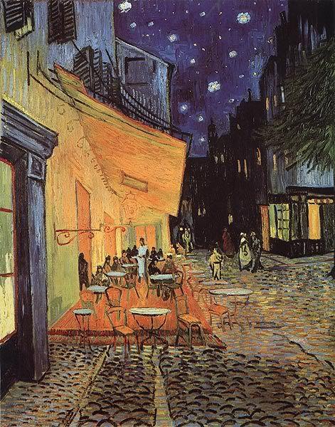 Terraza De Café Por La Noche 1888 Van Gogh En 2019 Van
