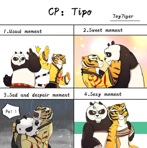 Tipo By 7oy7iger En 2020 Kung Fu Panda Kung Fu Y Dibujos Kawaii