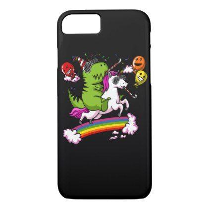 UNICORN RIDING T-REX iPhone 6/6S Case