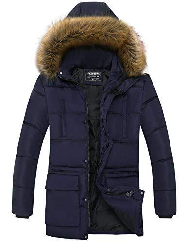 D'hiver En Chaude Parka Manteau Veste Homme Glestore Cotton iXZuPTOk