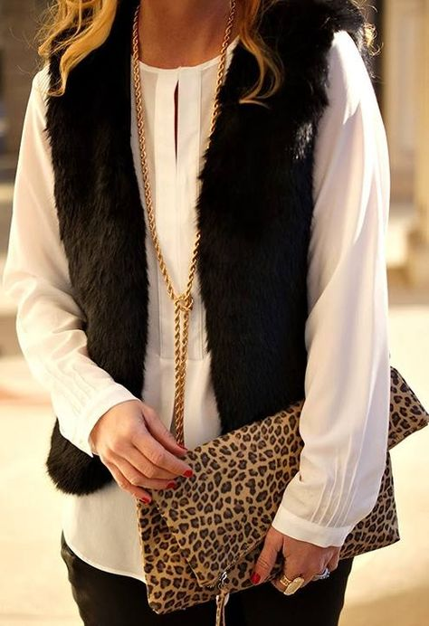 I always love vests for any season! layer up & delayer as it warms up!!