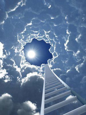 Stairway to Heaven ... ;)...looks more like Jacobs Ladder #justsayin