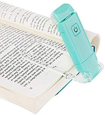 Dewenwils Usb Rechargeable Book Light For Reading In Bed Warm