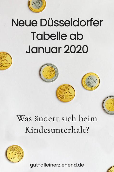unterhaltszahlung 2020