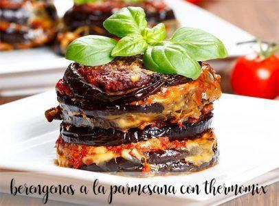 Berenjena A La Parmesana En Thermomix Receta En 2020 Berenjena A La Parmesana Recetas De Comida Thermomix