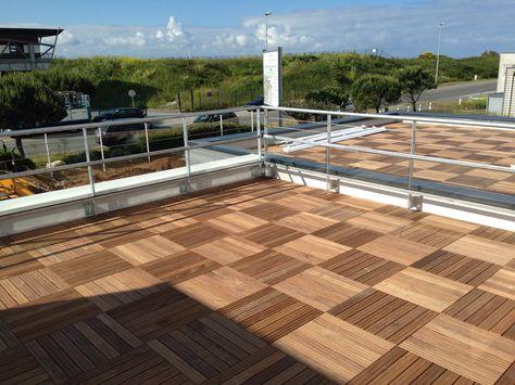 wwwchatel-etancheite étanchéité la rochelle Toiture terrasse - toiture terrasse bois accessible