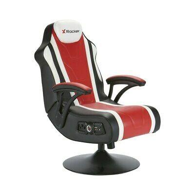 Sensational X Rocker Hurricane 2 1 Gaming Chair Headrest Mounted Audio Inzonedesignstudio Interior Chair Design Inzonedesignstudiocom