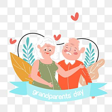 Hand Drawn Cartoon Grandparents Day Holding Hands Illustration Grandparents Clipart Grandparents Day Cartoon Png And Vector With Transparent Background For F Hand Illustration Grandparents Day Cartoons Png