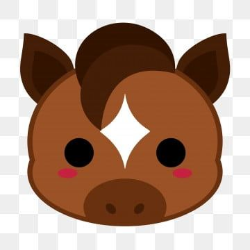 Cute Brown Horse Head Horse Head Horse Pony Png Transparent Clipart Image And Psd File For Free Download Animal Clipart Cartoon Clip Art Brown Horse