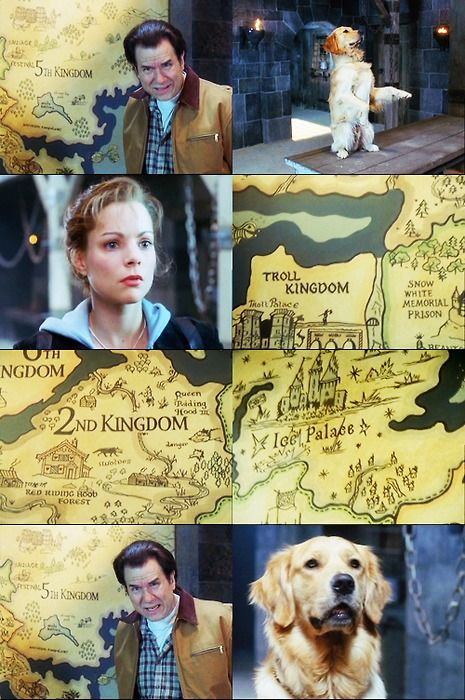 The map! The map! I wish we got to learn more about all the different kingdoms