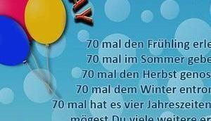 Lustige Gedichte Zum Siebzigsten Geburtstag Lustige Gedichte