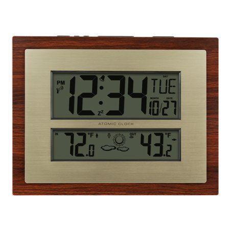 Better Homes And Gardens Digital Atomic Wall Clock Instructions