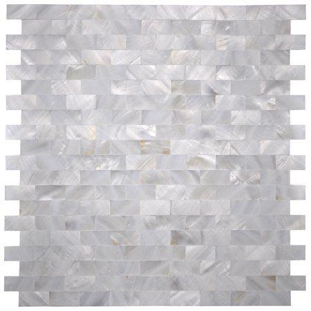 White Capiz Shell Tile 12 x 12