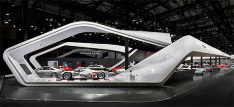 Audi Shanghai 2013 auto trade show & conference exhibit