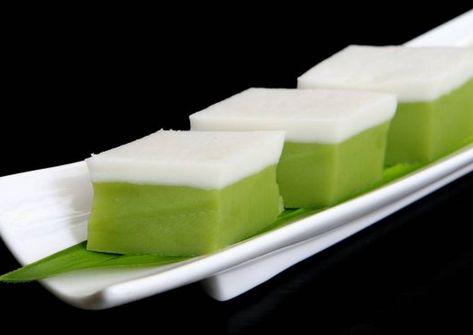 Kuih Talam Recipe By Oorked Recipe Nyonya Food Asian Desserts Recipes