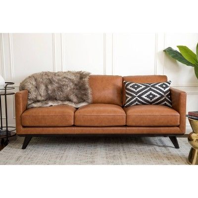Wondrous Chiang Top Grain Leather Sofa Machost Co Dining Chair Design Ideas Machostcouk