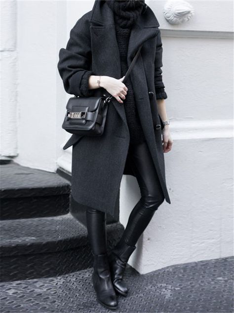 Trendy Fashion Outfits Chic All Black Ideas